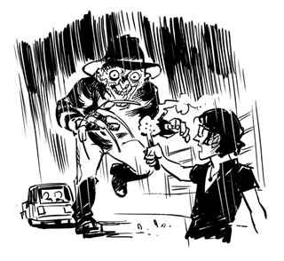 Illustration for article titled Imagine what Jurassic Park might be like if it had bred Freddy Krueger