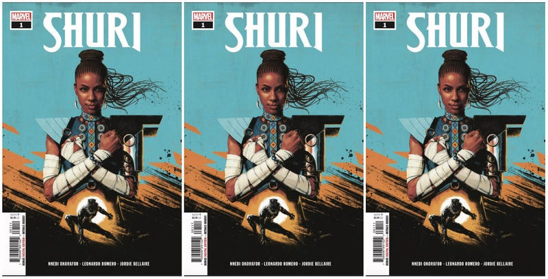 Illustration for article titled Black Girl Magic Meets Marvel: Nnedi Okorafor Unveils New Shuri Comic