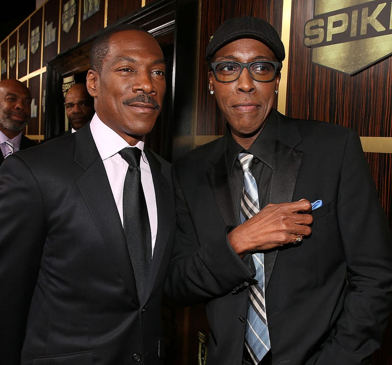 Eddie Murphy and Arsenio Hall (Christopher Polk/Getty Images)