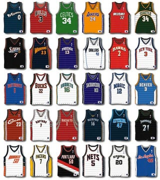 best service 4fe44 3643b Ready Or Not, Here Come Ads On NBA Jerseys