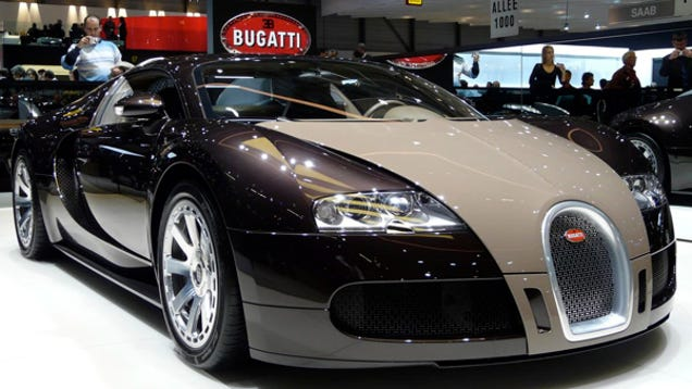 bugatti veyron centenaire edition heading to geneva. Black Bedroom Furniture Sets. Home Design Ideas