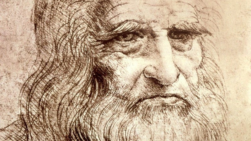 Illustration for article titled Así de sencillos eran los ingredientes que usaba Leonardo da Vinci para sus dibujos