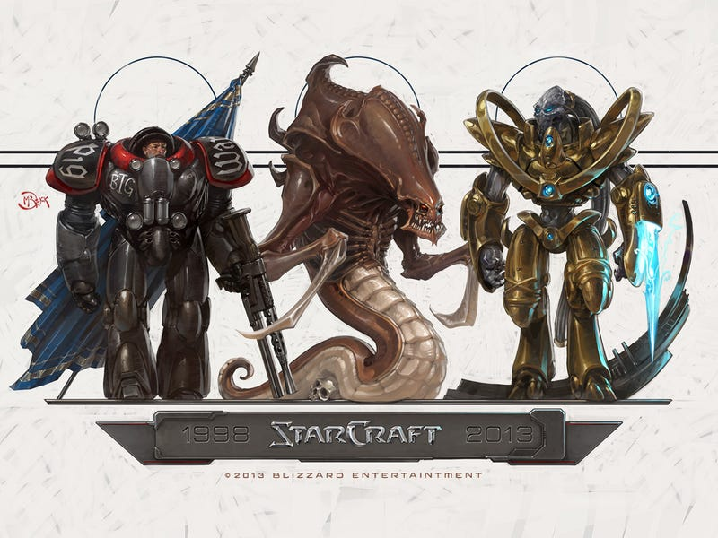Illustration for article titled StarCraft Turns 15 Today, and Blizzard Wants You to Celebrate