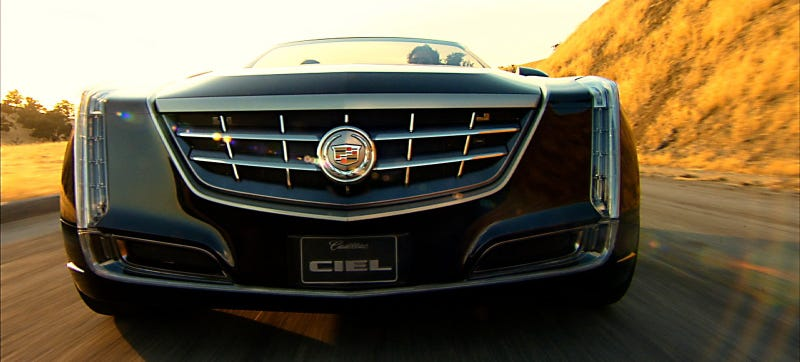 Photo Credit: Cadillac (the lovely fuller-than-full-size 2011 Ciel Concept pictured)