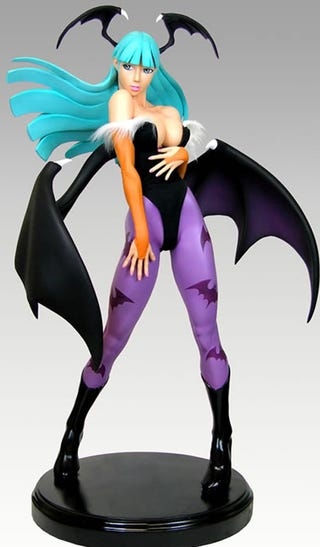 Illustration for article titled Morrigan Statue Does Not Beat Around The Breast