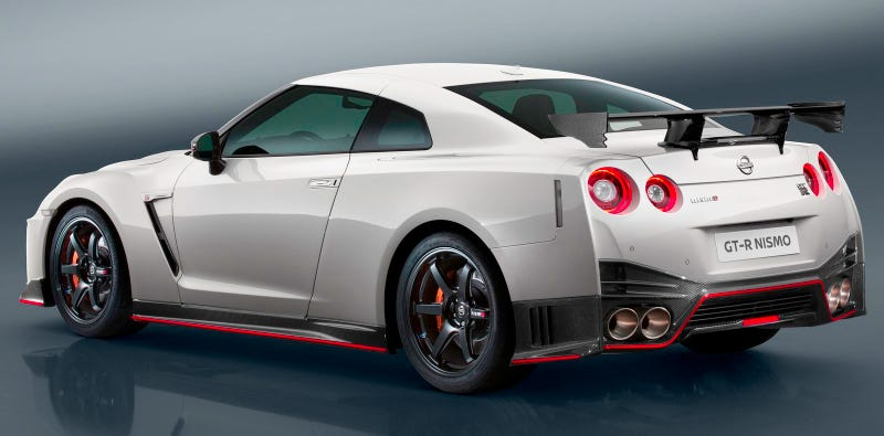 Illustration for article titled The 2017 Nissan GT-R Nismo Is Now $100,000 More Expensive Than The First GT-R