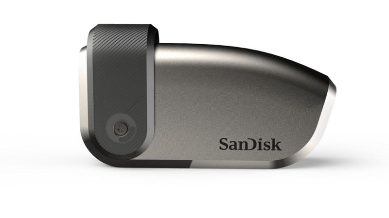 La memoria USB de 4 TB de SanDisk.