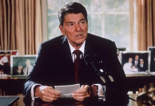 Ronald Reagan (Getty Images)