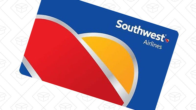 $100 Southwest Gift Card, $75 with code OFF