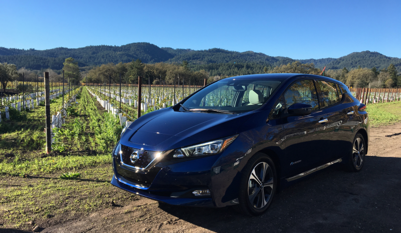 Photo: Jason Torchinsky/Jalopnik. The 2018 Nissan Leaf ...