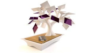 Illustration for article titled Finally! A Solar Tree That Can Charge Your iPhone