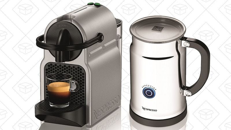 Illustration for article titled Today's best deals: Nespresso, GPS fitness watch, and more