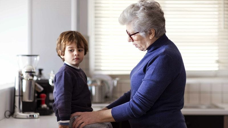 Illustration for article titled Report: More Americans Relying On Grandparents To Help Fuck Up Their Kids