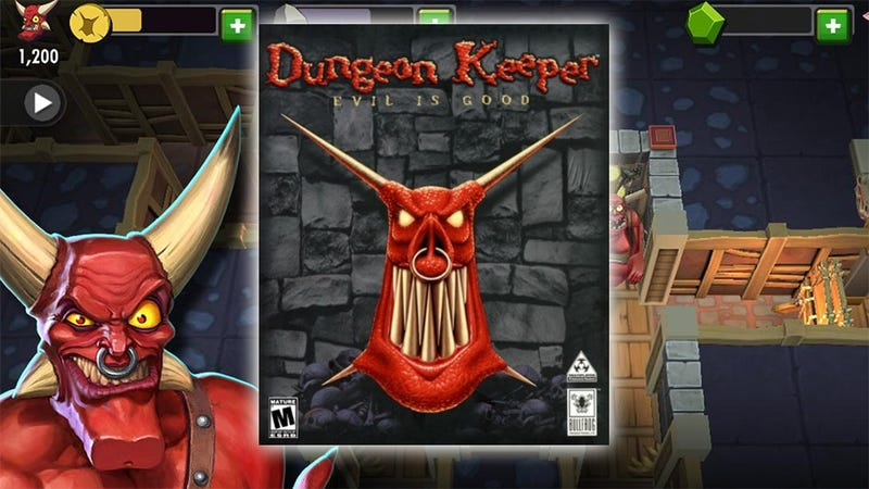 Illustration for article titled Forget Free-To-Play Dungeon Keeper, Play The Classic For Free Instead