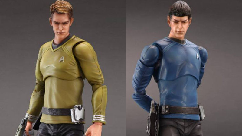 Illustration for article titled Did we know these totally horrifying Star Trek figures exist?
