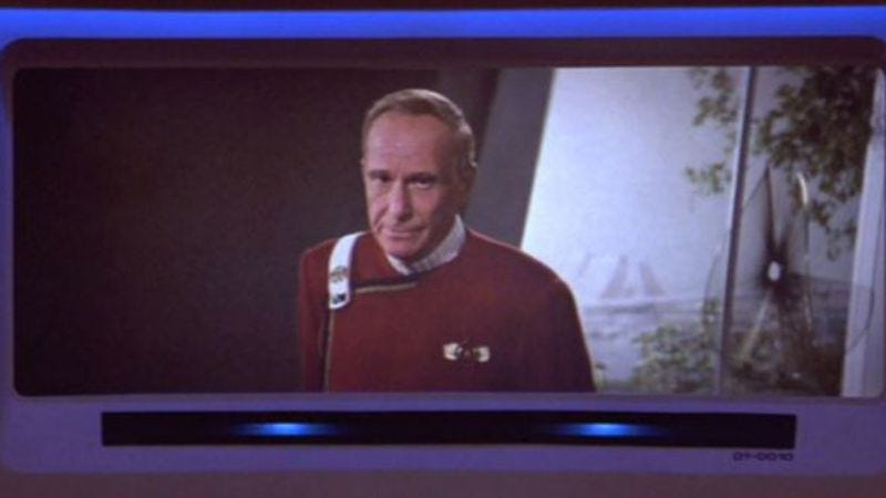 Harve Bennett in Star Trek V: The Final Frontier