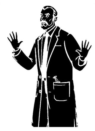 Illustration for article titled Here's a Krieger Stencil.  Because Archer