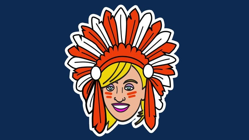 The Indians new logo