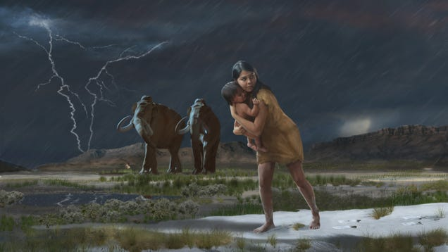 A Human Toddler and a Mammoth Crossed Paths in Ancient New Mexico, Footprints Suggest