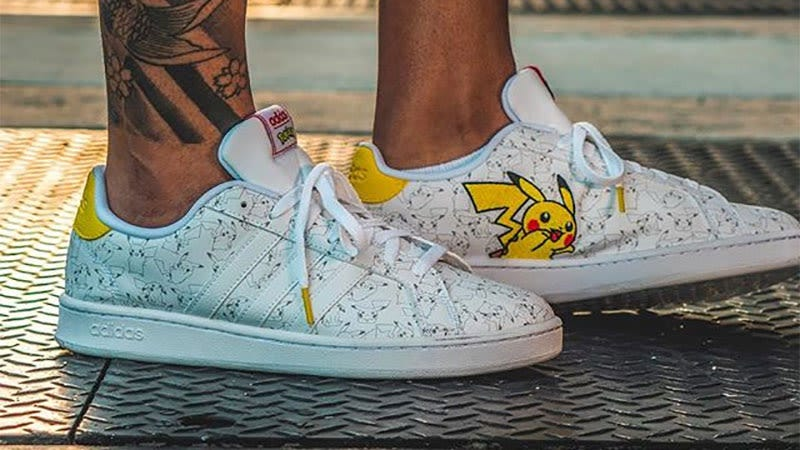 Creo que soy demasiado mayor para llevar las nuevas zapatillas de Pokemon que ha lanzado Adidas