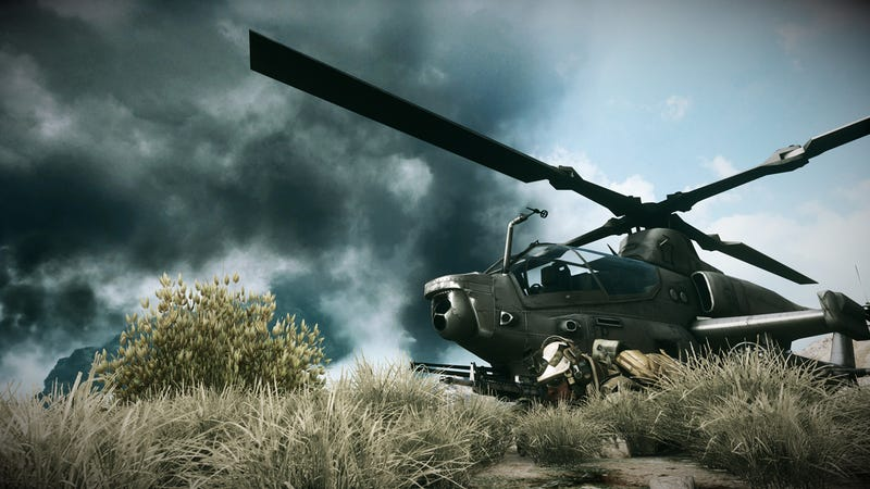 Illustration for article titled EA Ends First Amendment Claim to Use Real-World Helicopters in Games