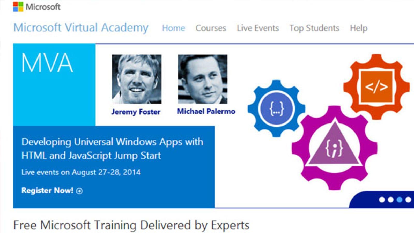 Get Free IT Training with Microsoft Virtual Academy