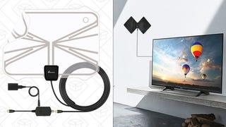 Antena Vansky HDTV | $14 | Amazon | Usa el código 3IX5Y4GDAntena Vansky HDTV con soporte | $14 | Amazon | Usa el código 3IX5Y4GD