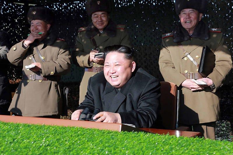 Kim Jong-un. Getty
