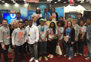 HBCU students at the South by Southwest festival in Austin, TexasSherrell Dorsey/The Root