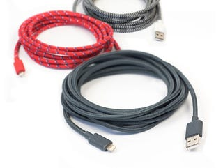 Illustration for article titled Get a 10-ft MFi Certified Lightning Cable For Over 30% Off