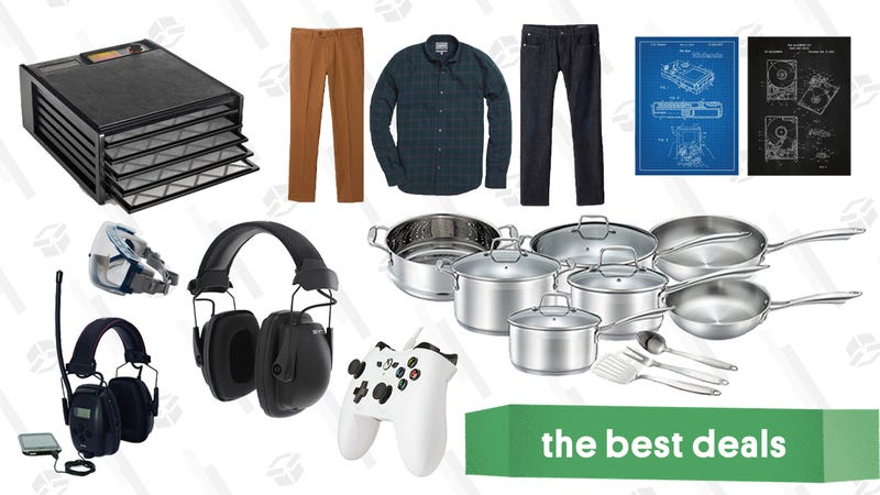 Illustration for article titled Tuesday's Best Deals: ModCloth, Under Armour, Food Dehydrator, and More