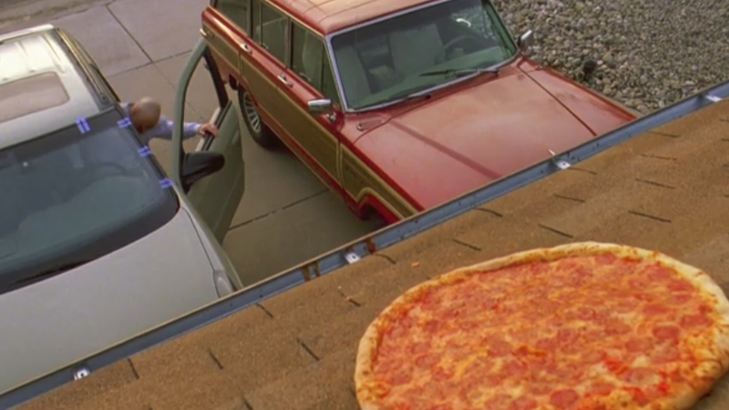 The owners of the Breaking Bad house put up a fence to stop people throwing pizzas onto their roof