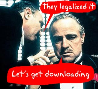Illustration for article titled Italian Parliament Legalizes P2P Music Downloads?
