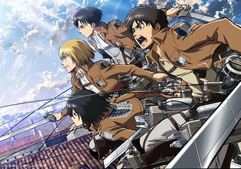 Illustration for article titled Omega Force Developing an Attack on Titan Game For PlayStation Platform (s)