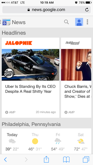 "Illustration for article titled Hey, Jalopnik, good job getting ""shitty"" on the front page of Google News"