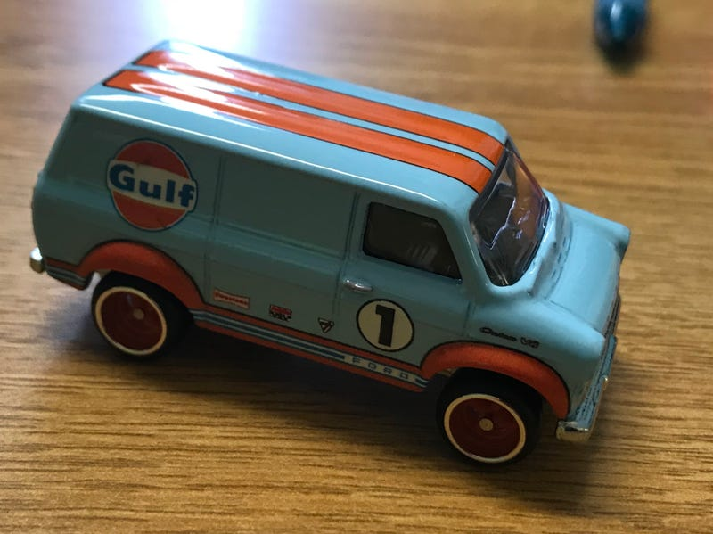 Illustration for article titled 3rd grade Toy Car Club review: Ford Transit Van