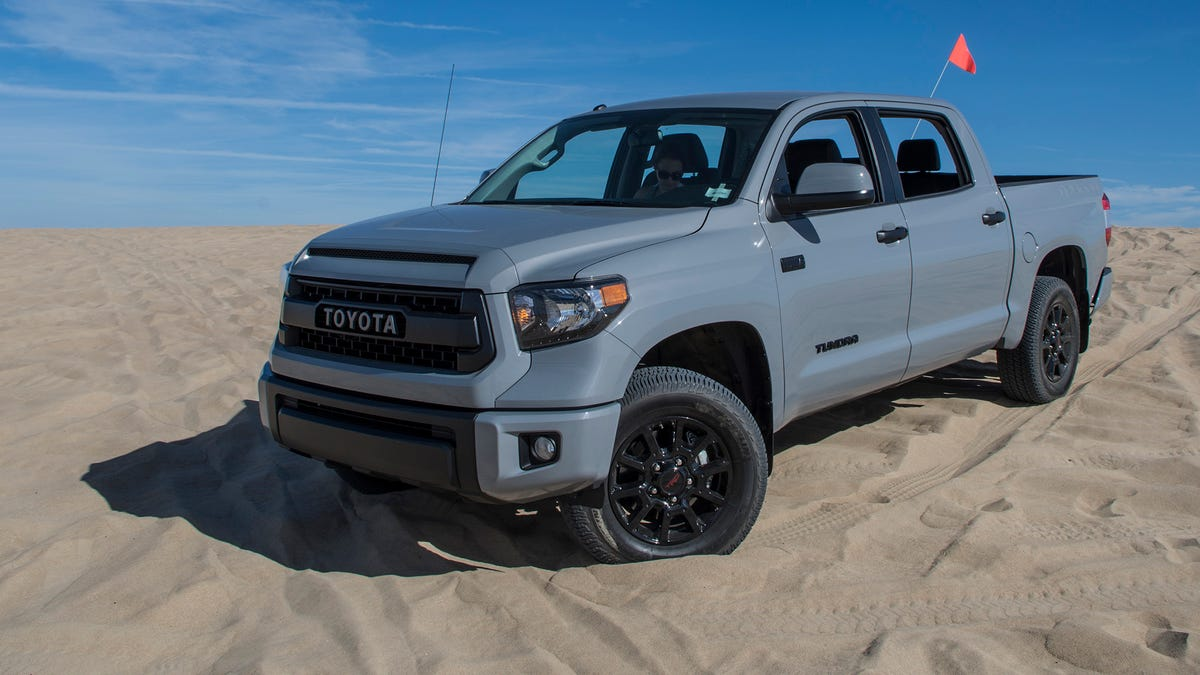 The 2017 Toyota Tundra Trd Pro Is The Best Version Of An Honest Old