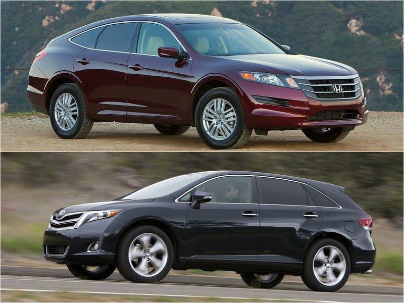 Illustration for article titled Toyota Venza vs. Honda Crosstour: The U.S. Sales Comparison Test