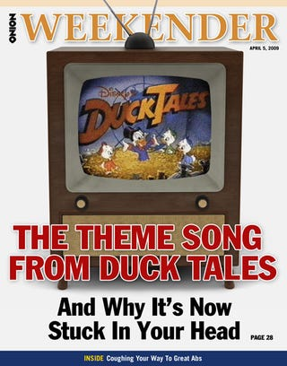 Illustration for article titled The Theme Song From Duck Tales And Why It's Now Stuck In Your Head