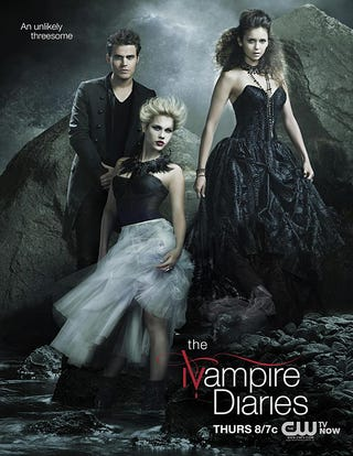 Illustration for article titled The Vampire Diaries Promo Posters