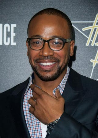 Columbus Short arrives at the seventh annual pre-Oscar Hollywood Domino Gala & Tournament at Sunset Tower Hotel Feb. 27, 2014, in West Hollywood, Calif. Valerie Macon/Getty Images