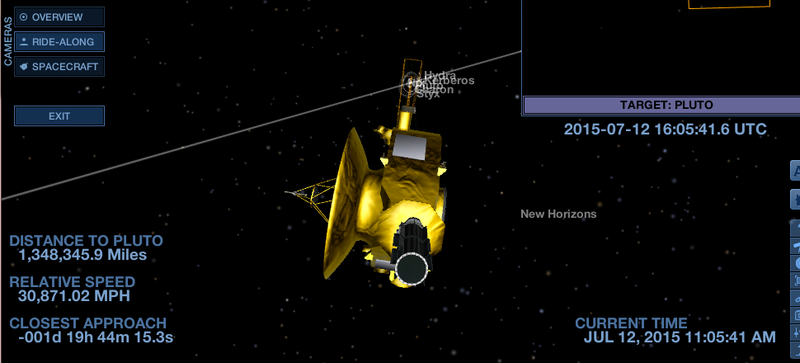 Illustration for article titled Fly Along with New Horizons in this NASA App