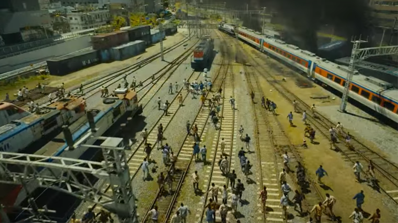 Image: Last year's 'Zombie on a Train' Korean thriller Train to Busan. Source: Still via Youtube