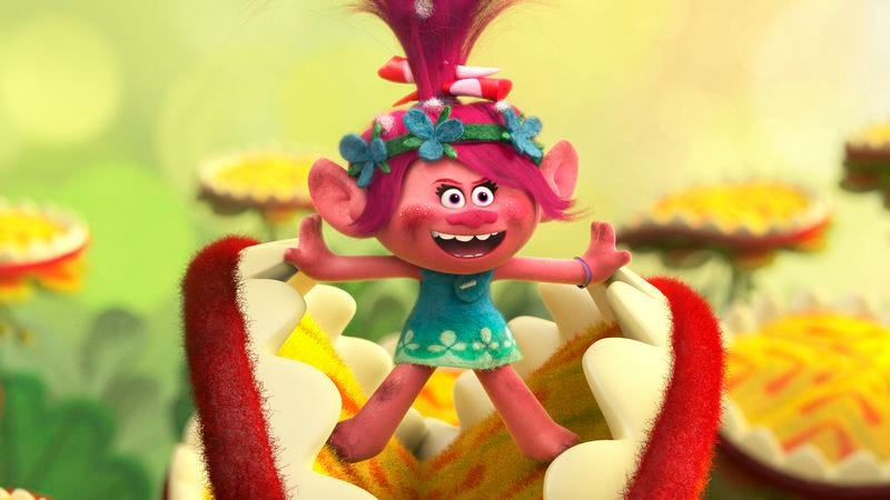 Trolls Hides A Profound Message In Sickly Sweet Confection