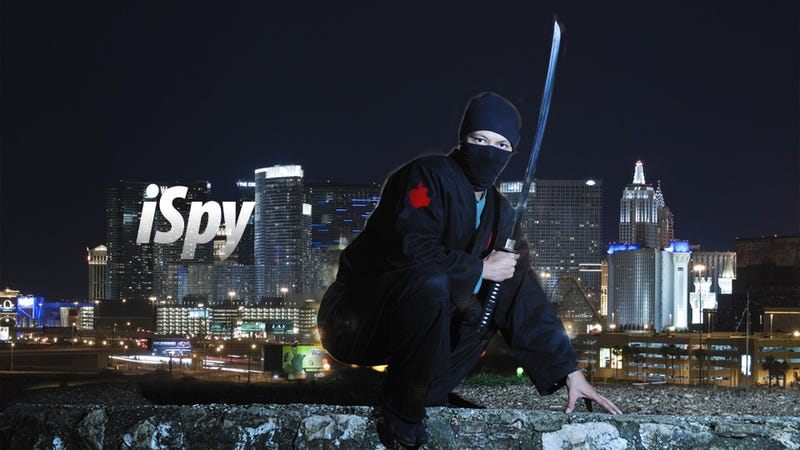 Illustration for article titled Apple Has 250 Ninjas Spying the Competition At CES