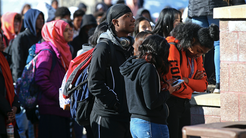 Students across the country participated in walkouts to protest gun violence.