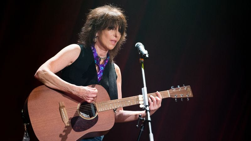 Illustration for article titled Chrissie Hynde has no regrets, including her comments on rape