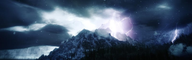 Illustration for article titled Beautiful Skyrim Photos Look Like Postcards