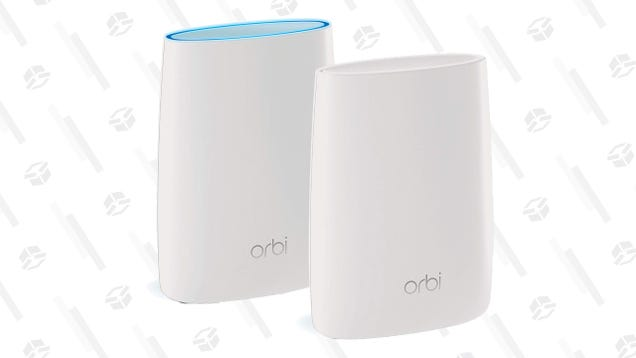 Pick Up a Netgear Orbi Two-Pack For Just $160