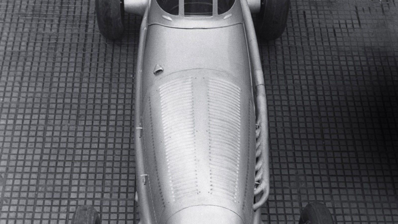 Zoltan Glass motor racing photograph, c 1930s. at Science